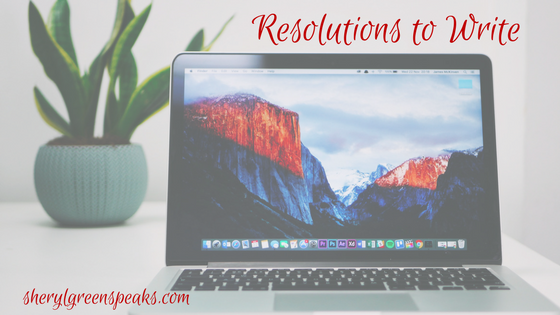 Resolutions to Write